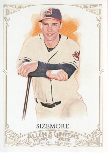 2012 Topps Allen and Ginter #91 Grady Sizemore