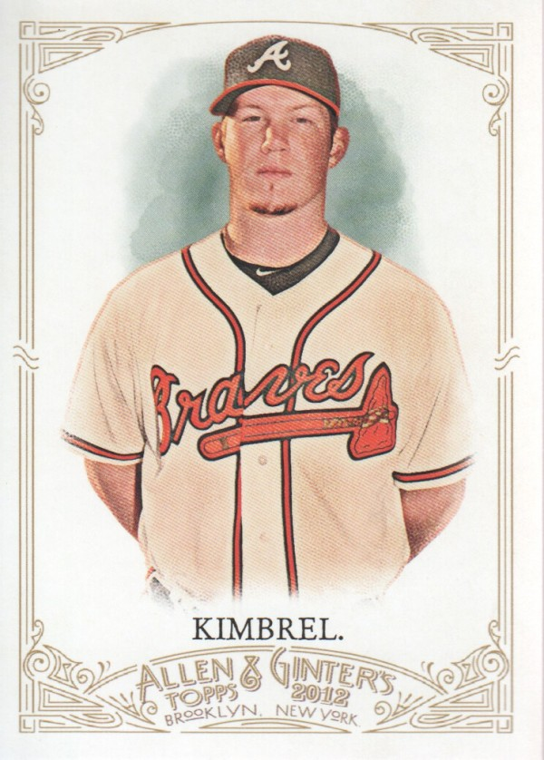 2012 Topps Allen and Ginter #92 Craig Kimbrel