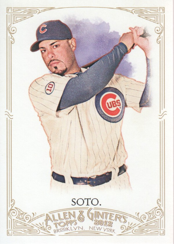 2012 Topps Allen and Ginter #94 Geovany Soto