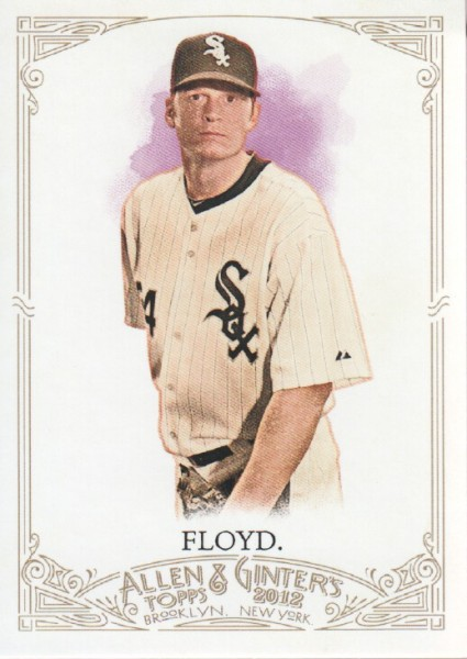 2012 Topps Allen and Ginter #96 Gavin Floyd