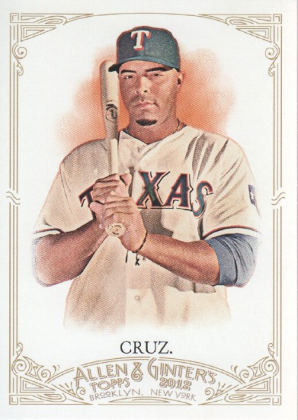 2012 Topps Allen and Ginter #98 Nelson Cruz