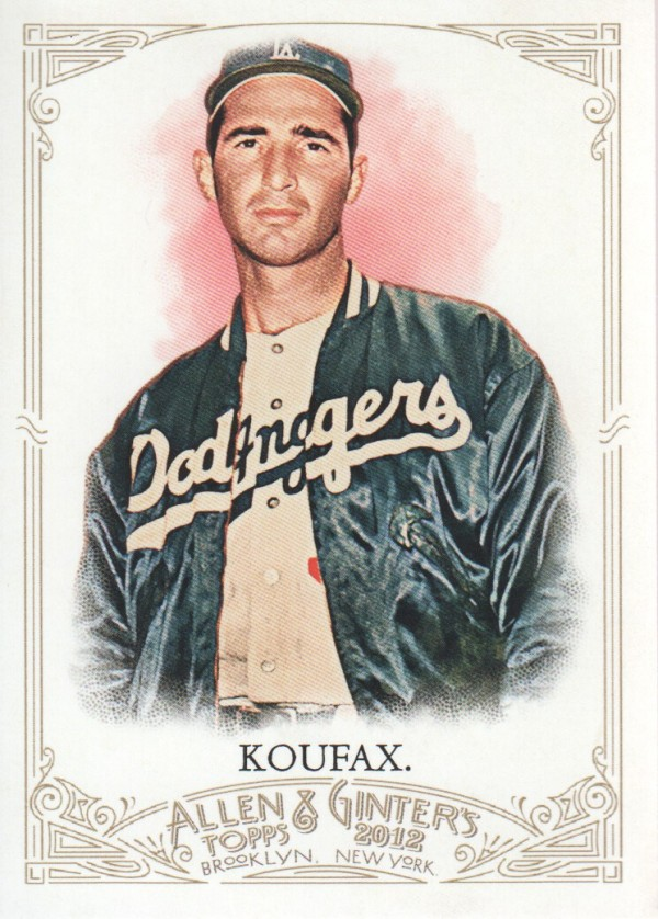 2012 Topps Allen and Ginter #99 Sandy Koufax