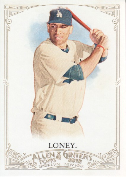 2012 Topps Allen and Ginter #101 James Loney