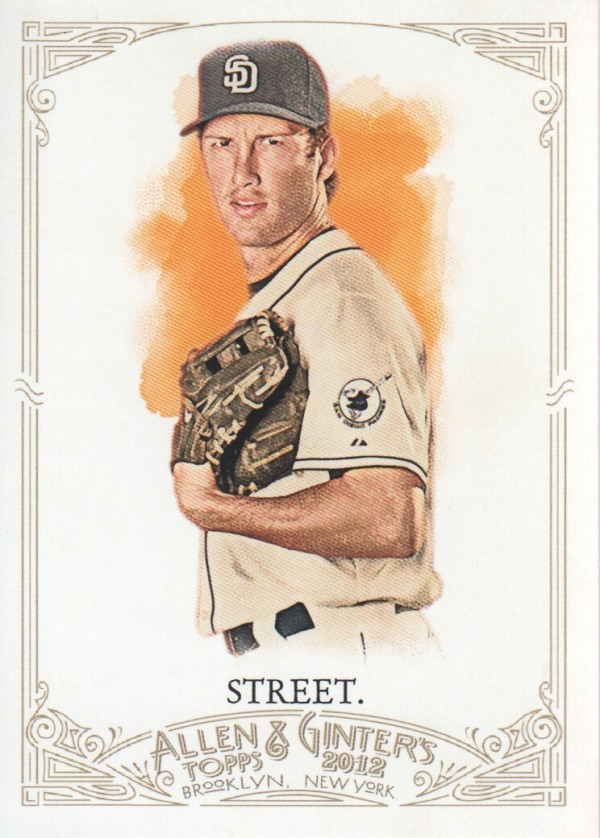 2012 Topps Allen and Ginter #102 Huston Street