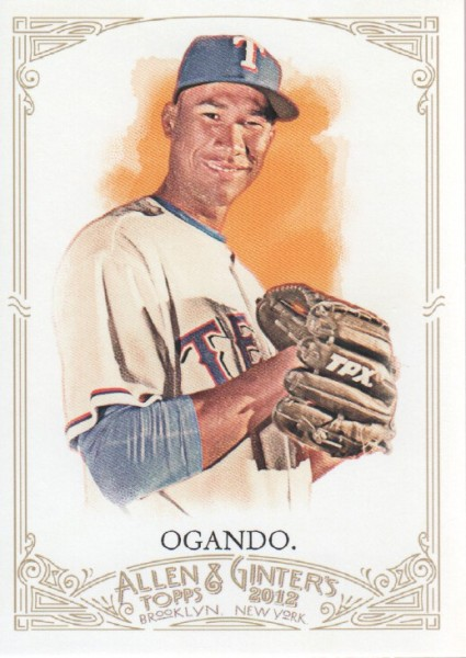 2012 Topps Allen and Ginter #103 Alexi Ogando