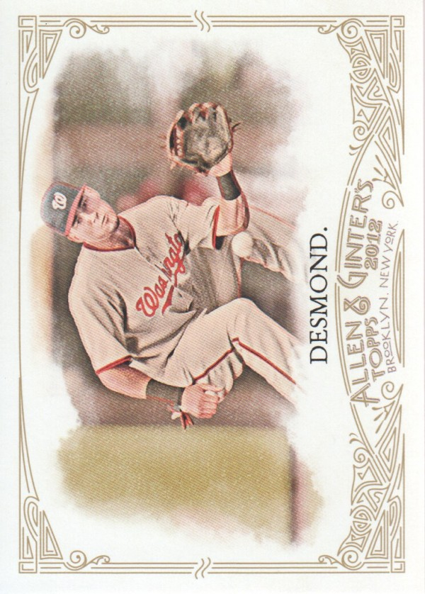 2012 Topps Allen and Ginter #104 Ian Desmond