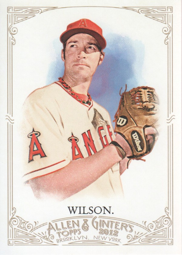 2012 Topps Allen and Ginter #107 C.J. Wilson
