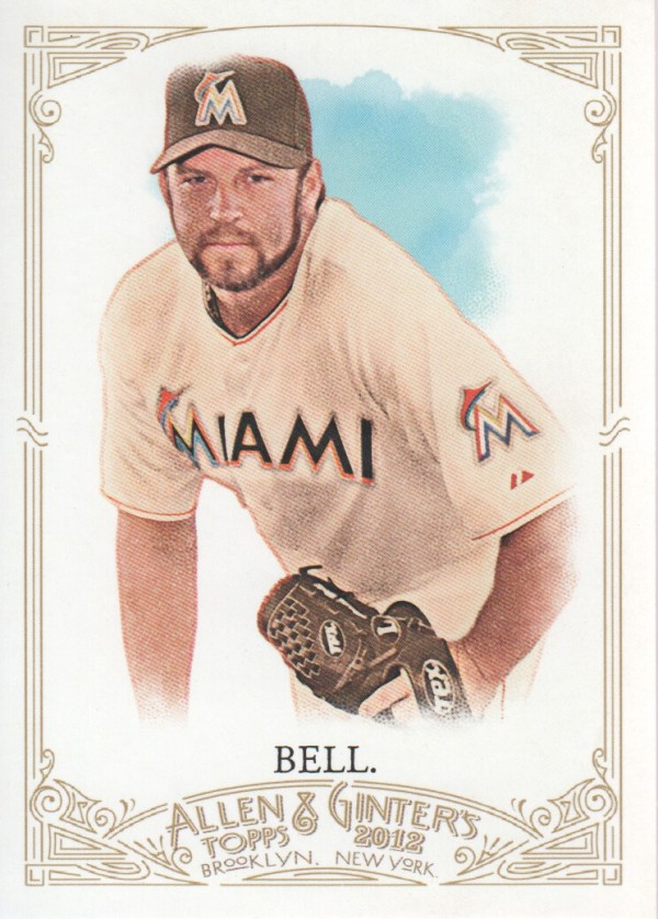 2012 Topps Allen and Ginter #110 Heath Bell