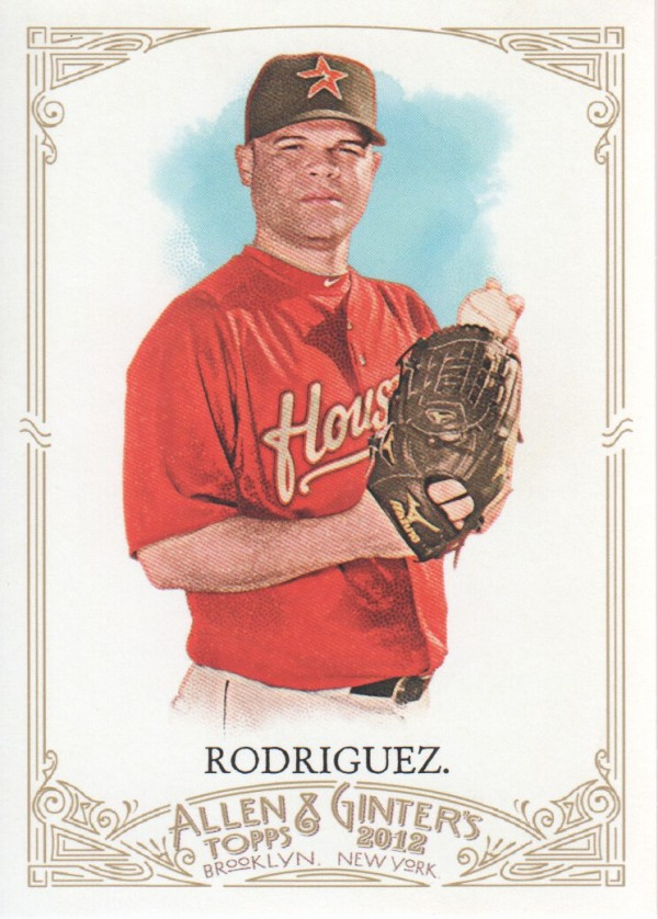2012 Topps Allen and Ginter #111 Wandy Rodriguez