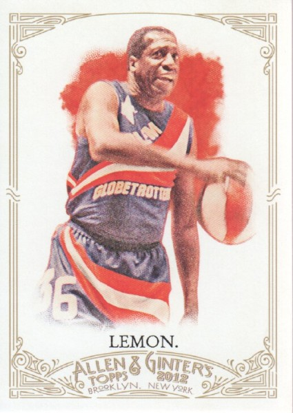 2012 Topps Allen and Ginter #113 Meadowlark Lemon