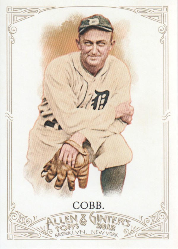 2012 Topps Allen and Ginter #197 Ty Cobb