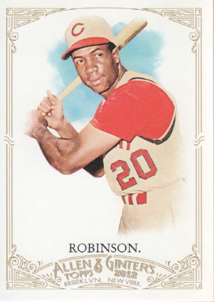 2012 Topps Allen and Ginter #325 Frank Robinson SP