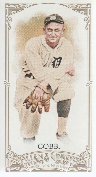 2012 Topps Allen and Ginter Mini #197 Ty Cobb