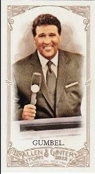2012 Topps Allen and Ginter Mini #292 Greg Gumbel