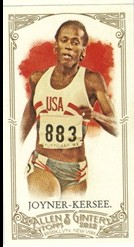 2012 Topps Allen and Ginter Mini A and G Back #193 Jackie Joyner-Kersee