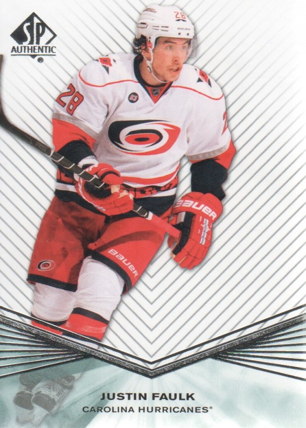 2011-12 SP Authentic Rookie Extended #R13 Justin Faulk