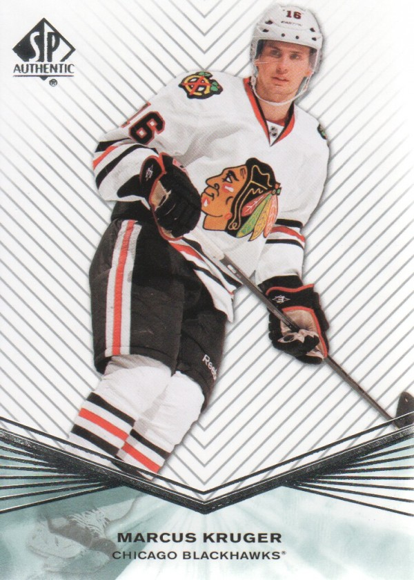 2011-12 SP Authentic Rookie Extended #R15 Marcus Kruger