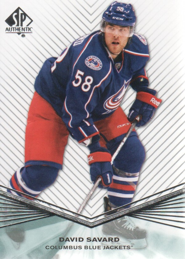 2011-12 SP Authentic Rookie Extended #R18 David Savard
