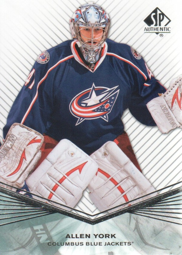 2011-12 SP Authentic Rookie Extended #R22 Allen York