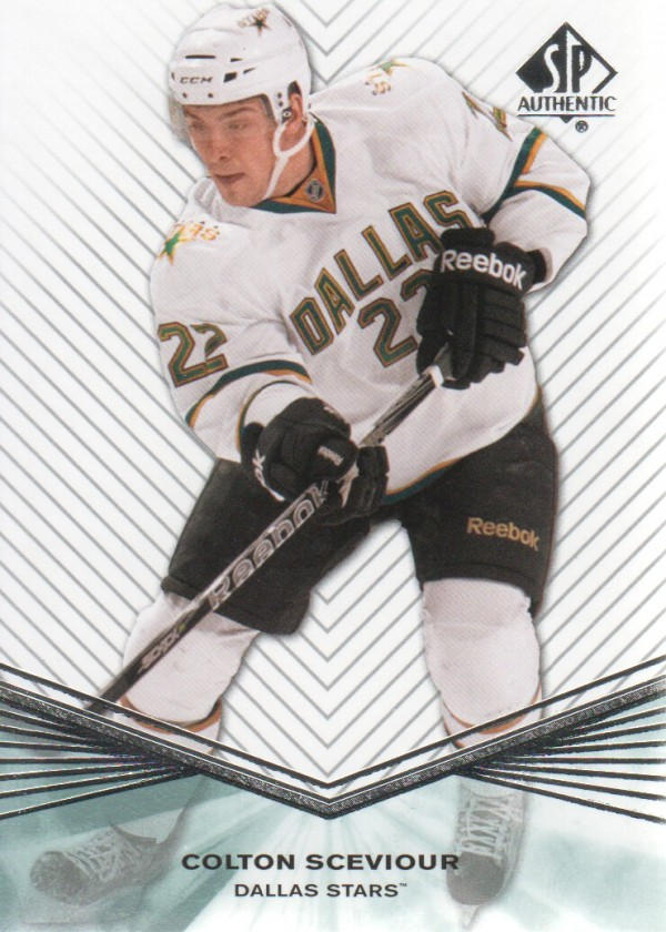 2011-12 SP Authentic Rookie Extended #R25 Colton Sceviour