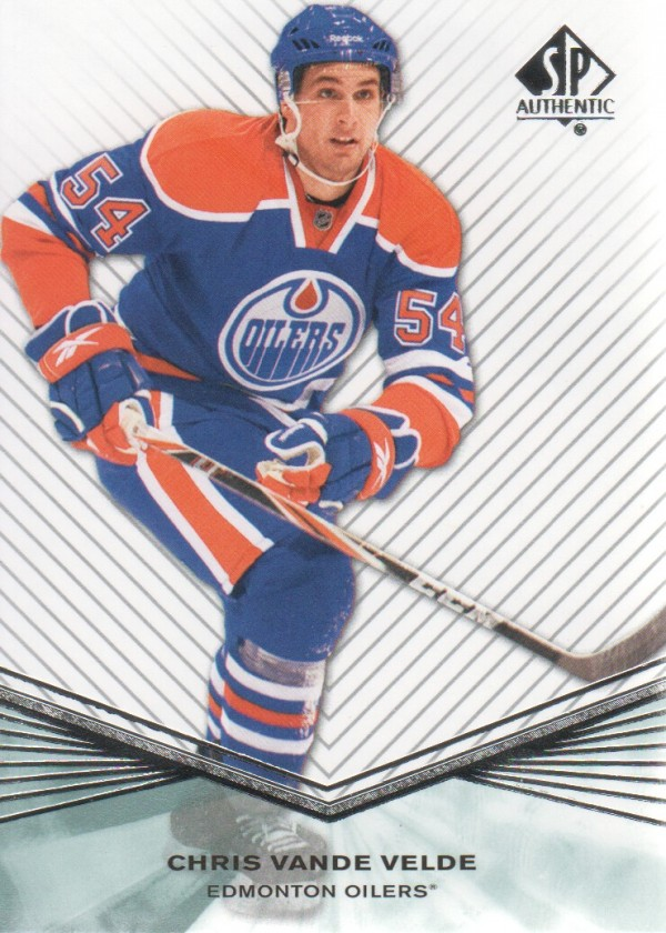 2011-12 SP Authentic Rookie Extended #R28 Chris Vande Velde