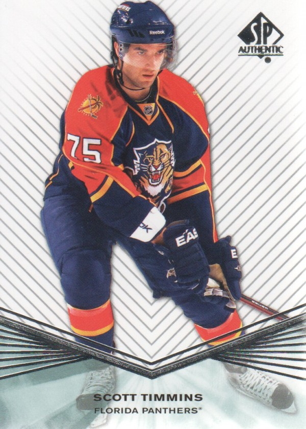 2011-12 SP Authentic Rookie Extended #R34 Scott Timmins