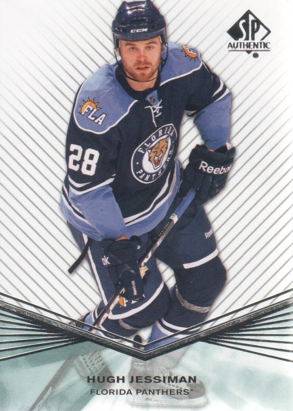 2011-12 SP Authentic Rookie Extended #R35 Hugh Jessiman
