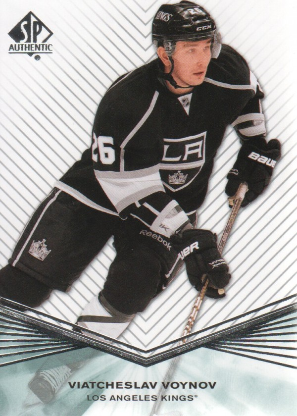 2011-12 SP Authentic Rookie Extended #R38 Viatcheslav Voynov