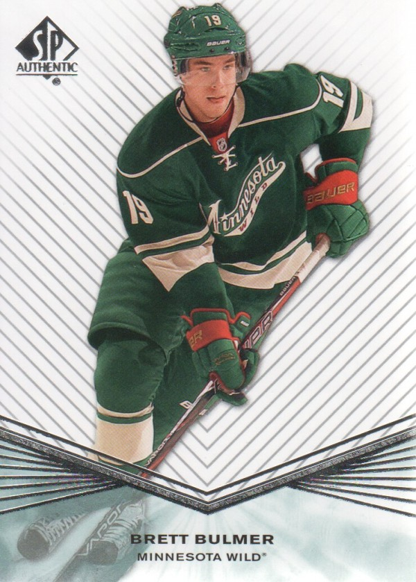 2011-12 SP Authentic Rookie Extended #R39 Brett Bulmer