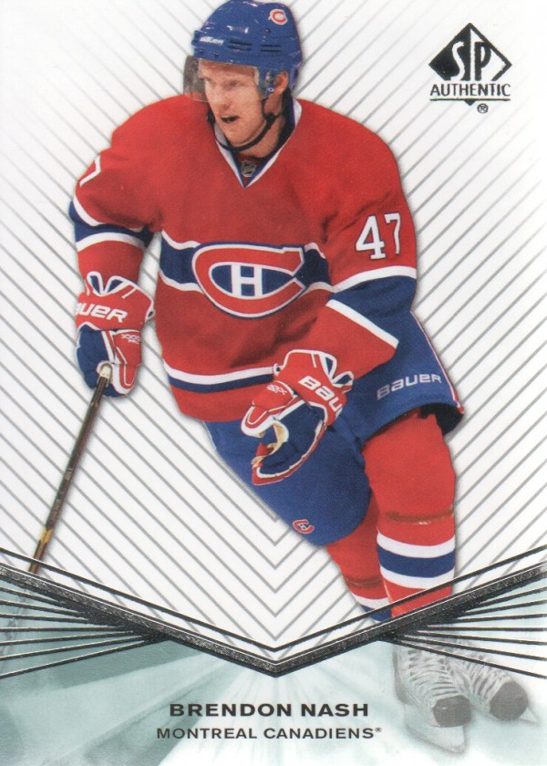 2011-12 SP Authentic Rookie Extended #R44 Brendon Nash