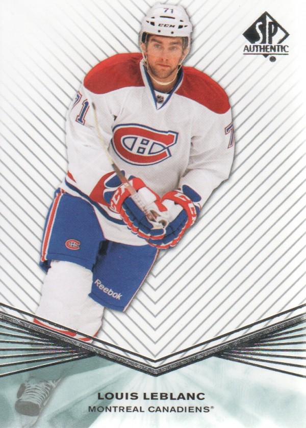 2011-12 SP Authentic Rookie Extended #R48 Louis Leblanc