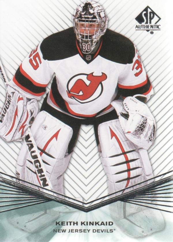 2011-12 SP Authentic Rookie Extended #R54 Keith Kinkaid