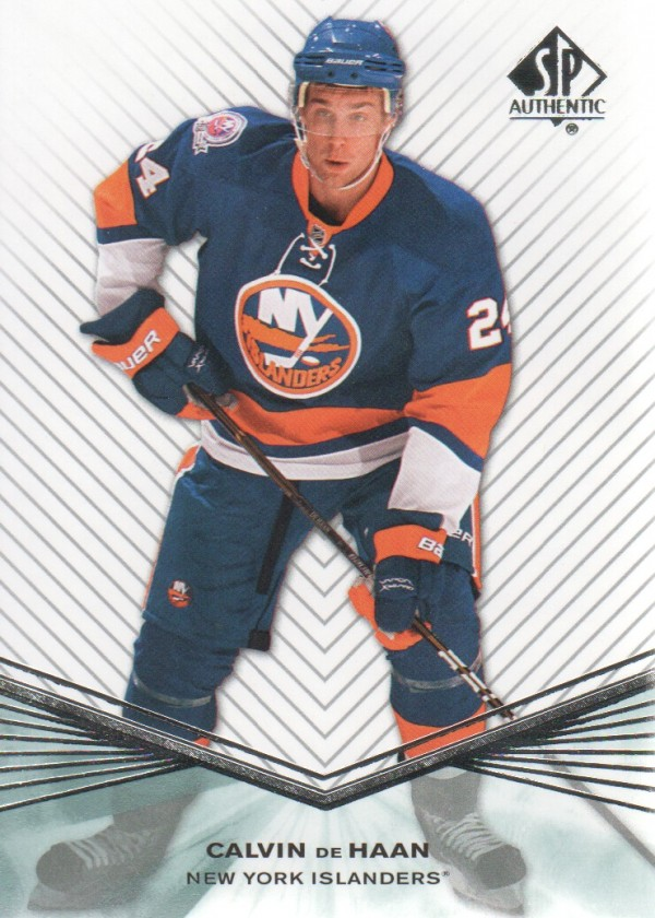 2011-12 SP Authentic Rookie Extended #R58 Calvin de Haan