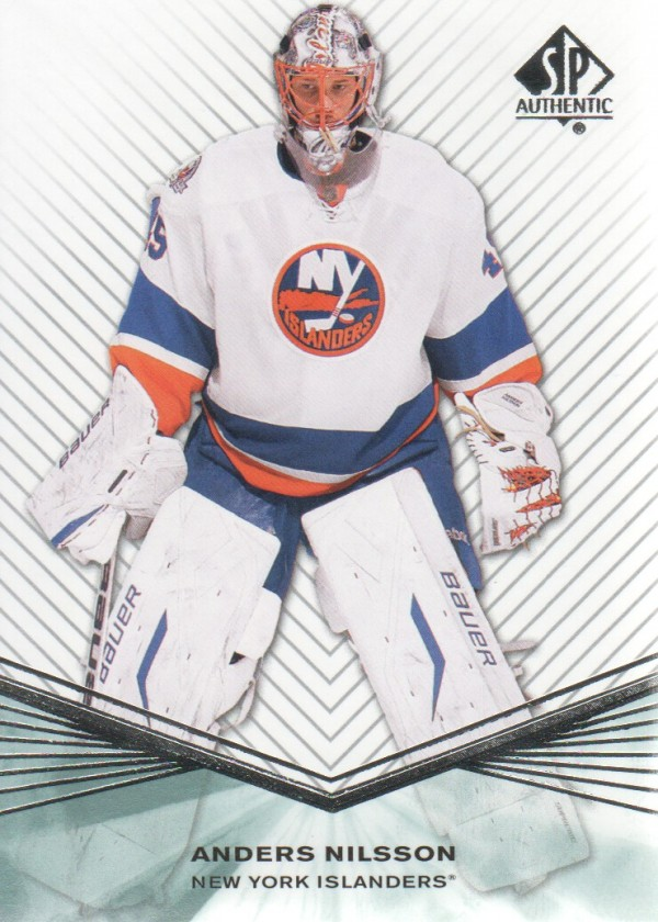 2011-12 SP Authentic Rookie Extended #R61 Anders Nilsson