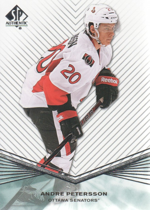 2011-12 SP Authentic Rookie Extended #R65 Andre Petersson