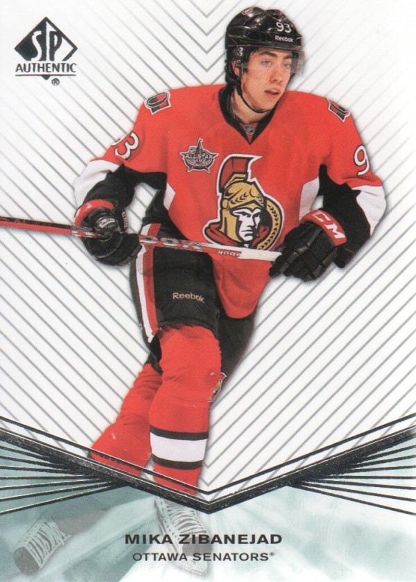 2011-12 SP Authentic Rookie Extended #R72 Mika Zibanejad