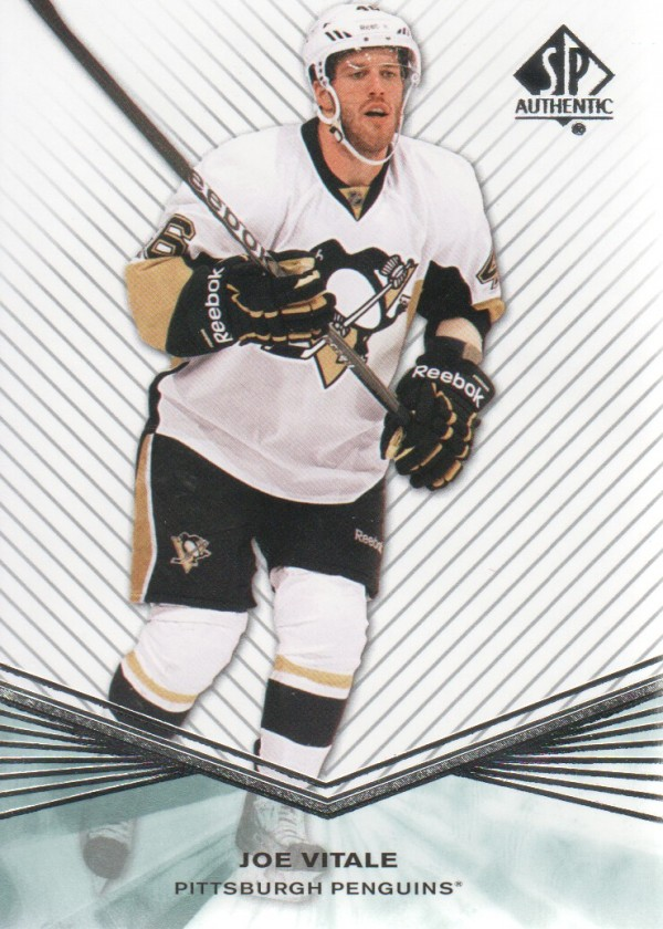 2011-12 SP Authentic Rookie Extended #R82 Joe Vitale
