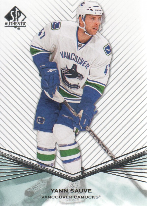 2011-12 SP Authentic Rookie Extended #R92 Yann Sauve