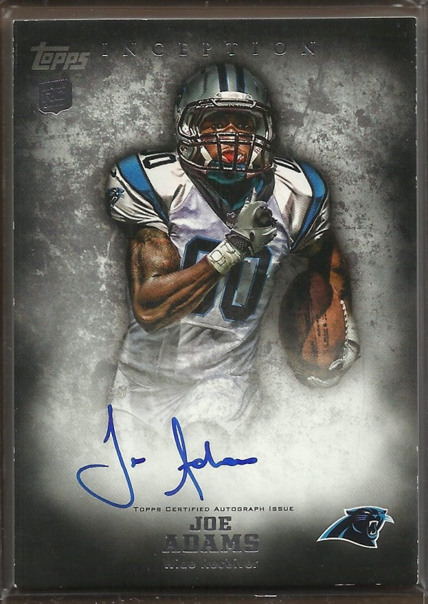 2012 Topps Inception #132 Joe Adams AU RC