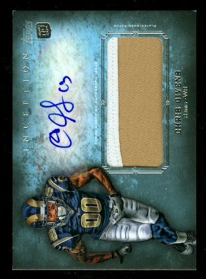 2012 Topps Inception Rookie Jumbo Patch Autographs #AJPCGI Chris Givens