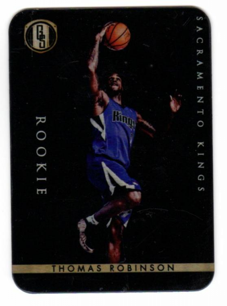 2011-12 Panini Gold Standard 2012 Draft Pick Redemptions #XRC5 Thomas Robinson