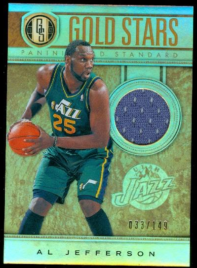 2011-12 Panini Gold Standard Gold Stars Materials #29 Al Jefferson/149