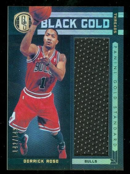 2011-12 Panini Gold Standard Black Gold Threads #24 Derrick Rose/149
