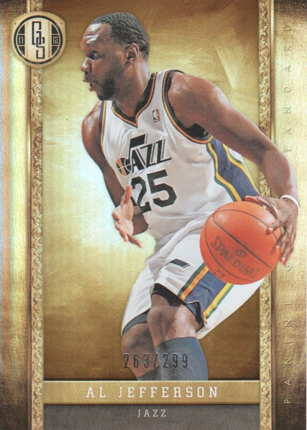 2011-12 Panini Gold Standard #3 Al Jefferson