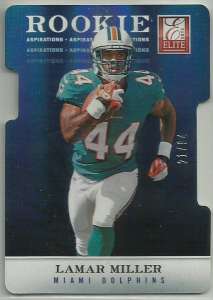 2012 Elite Aspirations #133 Lamar Miller/94