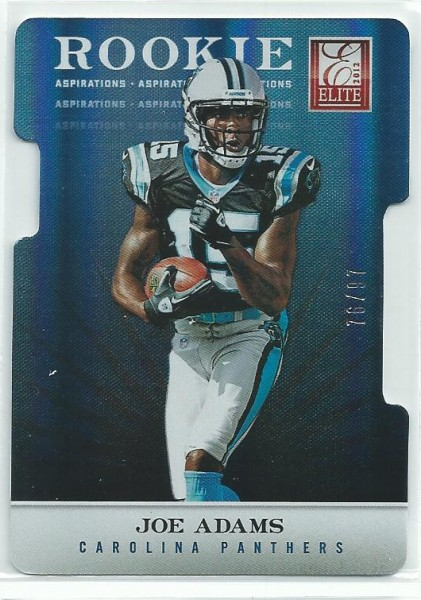2012 Elite Aspirations #167 Joe Adams/97