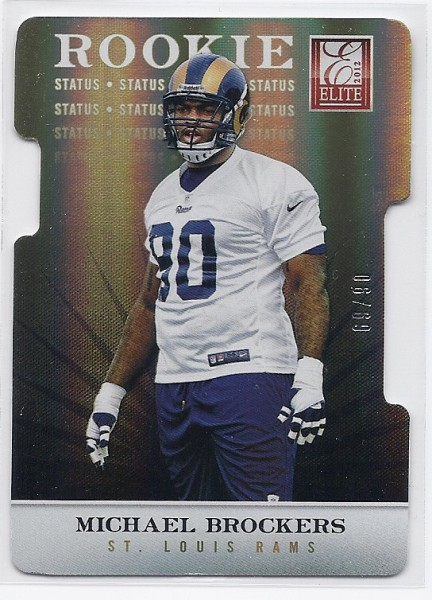 2012 Elite Status #110 Michael Brockers/90
