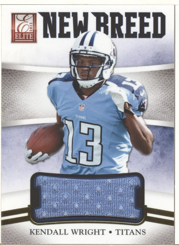 2012 Elite New Breed Jerseys #7 Kendall Wright/299
