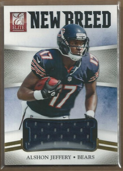 2012 Elite New Breed Jerseys #15 Alshon Jeffery/399