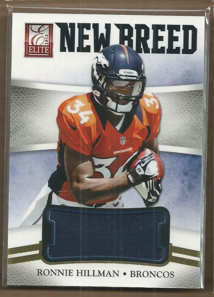 2012 Elite New Breed Jerseys #22 Ronnie Hillman/399